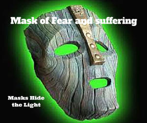 Mask of Fear and suffering