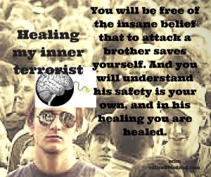 Healing my inner terrorist
