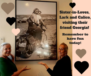 Sister-in-Loves visiting their friend Georgia!-2