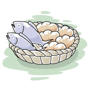 250b221605bde807fa2b46fb3ae6f076_fish-and-loaves-loaves-and-fishes-clipart-free_360-360